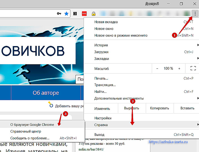 О браузере Google Chrome