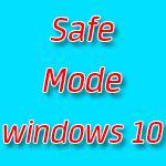 Как войти в безопасный режим windows 10